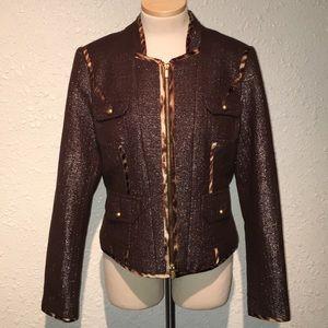Cache Wool Blend Jacket